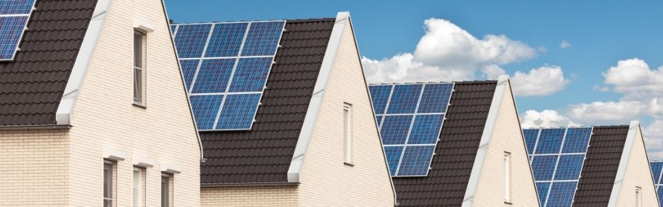 solar pv panels on roof